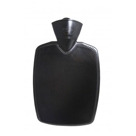 Bouillotte rainurée (Noir)