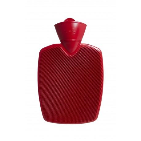 Bouillotte rainurée (Rouge)