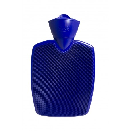 Bouillotte rainurée (Bleu)