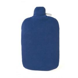 Bouillotte écologique avec Housse En Polaire Douce (Bleu)
