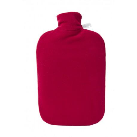 Bouillotte écologique polaire rouge HUGO FROSCH